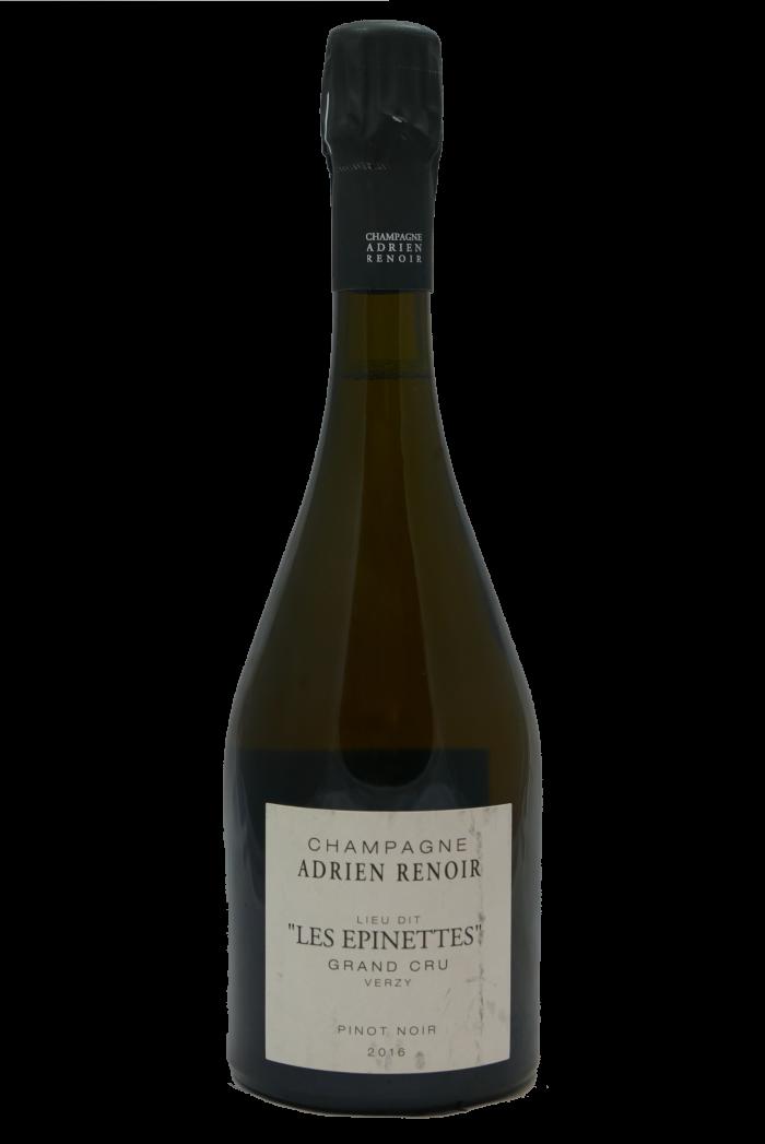 "ADRIEN RENOIR Verzy Grand Cru Pinot noir ""Les Epinettes"" 2016"