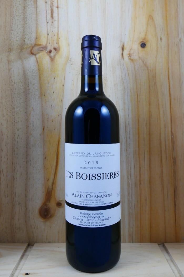 """ALAIN CHABANON  Languedoc Rouge """"Les Boissières"""" 2015"""