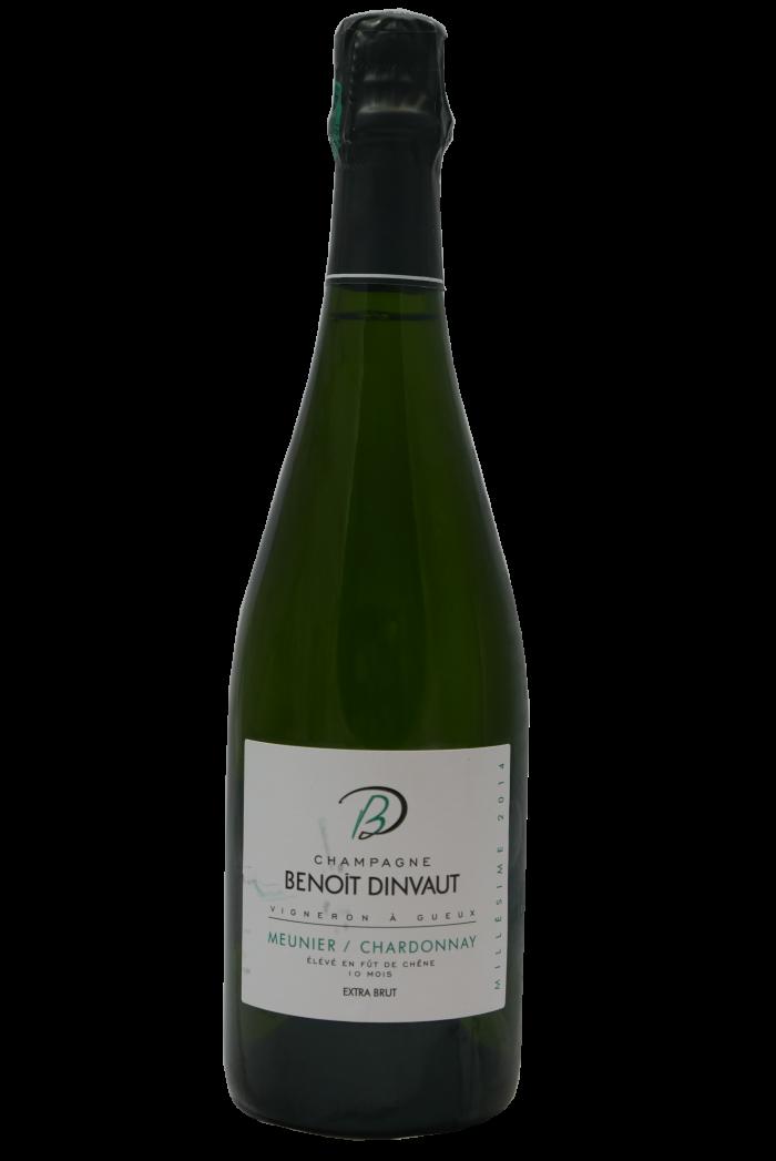 BENOIT DINVAUT Extra-Brut Meunier Chardonnay 2014