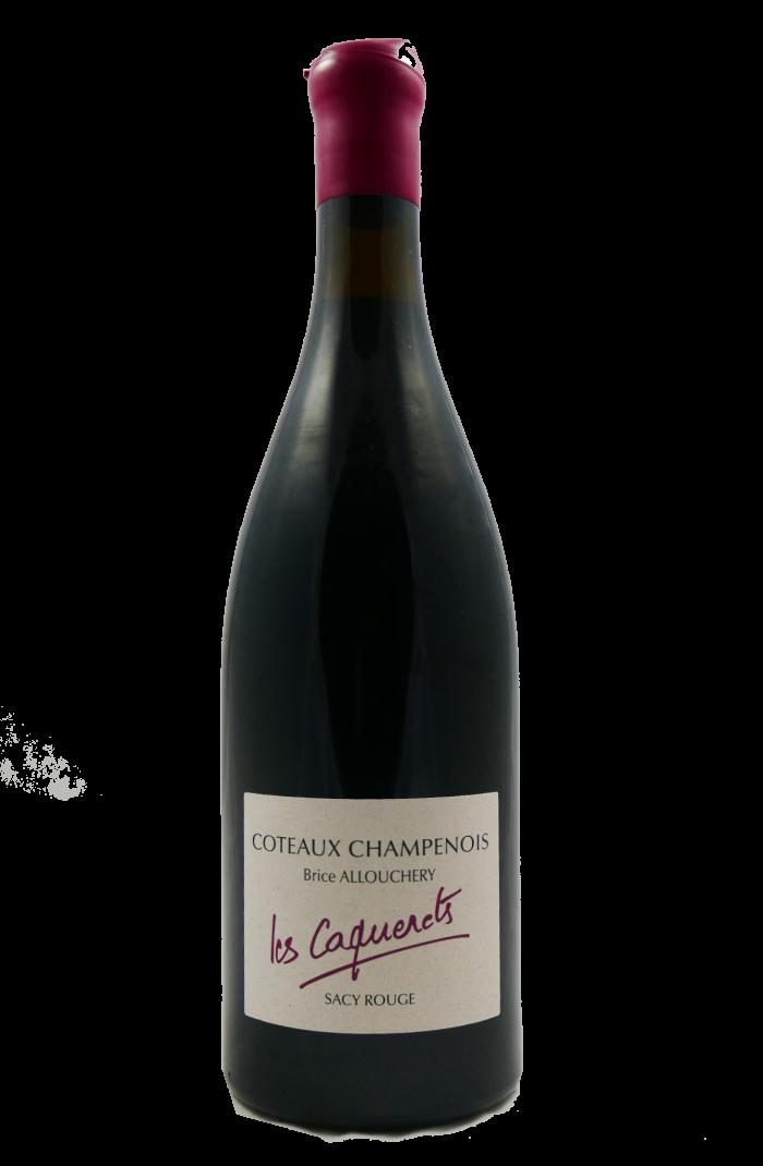 """BRICE ALLOUCHERY  Coteaux Champenois """"Les Caquerets"""" Rouge 2019 MAGNUM"""