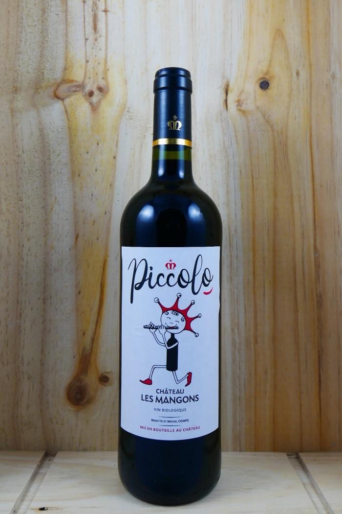 """CHATEAU LES MANGONS Sainte foy Cottes de Bordeaux Rge """"Piccolo"""" 2016"""