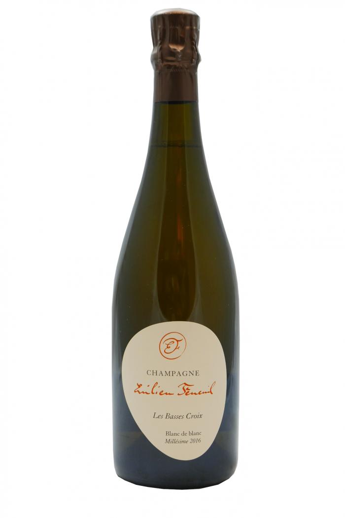 EMILIEN FENEUIL Champagne blanc de blanc Les Basses Croix et Les Gillis 2016