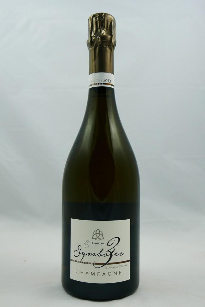 """HUBERT NOIRET Blanc de Blancs """"Les 3 Symboles"""" 2013"""