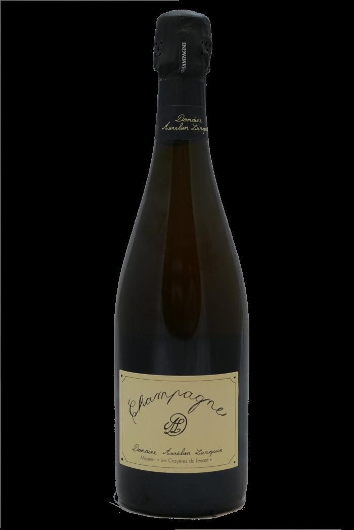LURQUIN AURELIEN Champagne Crayères du Levant Meunier 2018