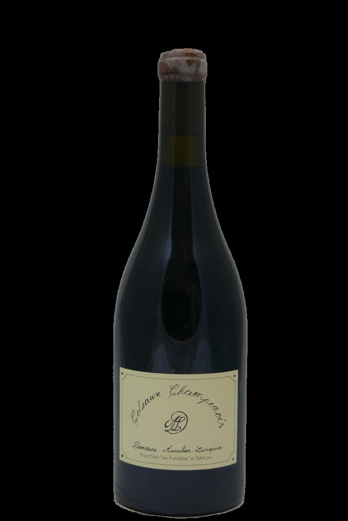 """LURQUIN AURELIEN Coteaux Champenois Rouge Pinot Noir """"Les Forcières"""" 2016"""