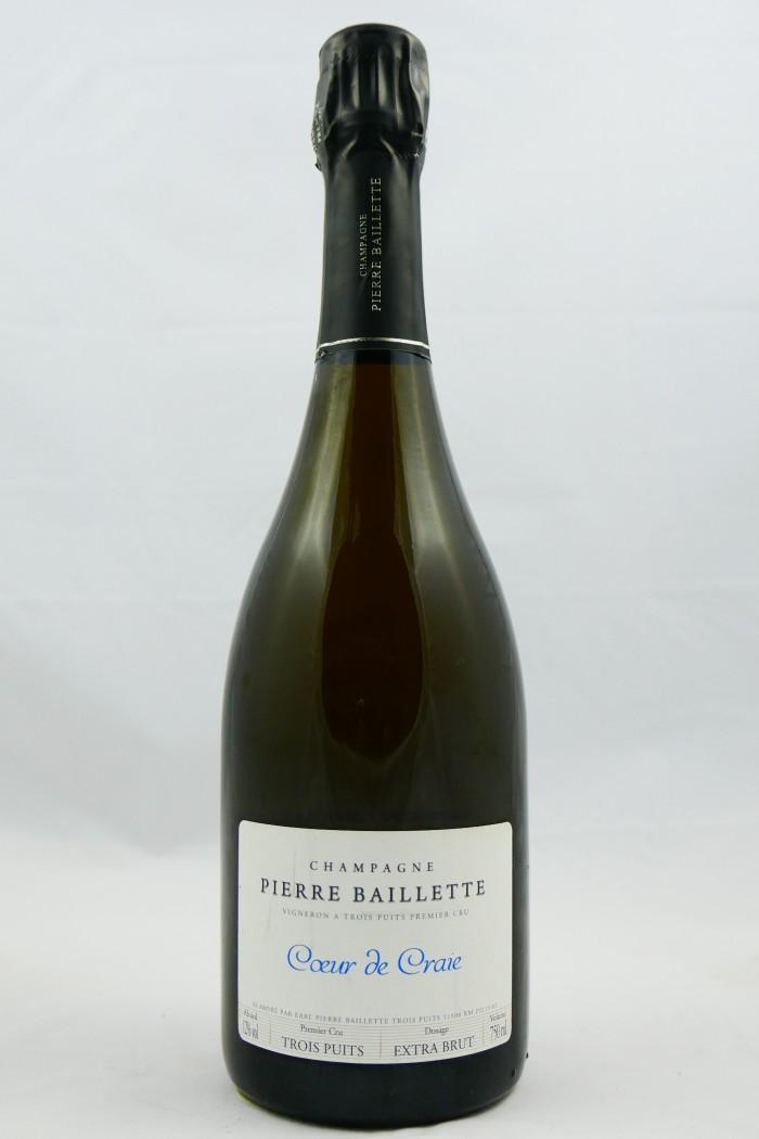 BAILLETTE Coeur de Craie Blanc de Noirs 3 Puits 2015